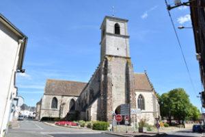 Eglise Saint-Lubin de Brou (Façade Ouest)