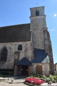 Eglise Saint-Lubin de Brou (Façade Nord)
