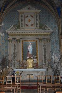 Eglise Saint-Lubin de Brou (Chapelle de la Vierge)